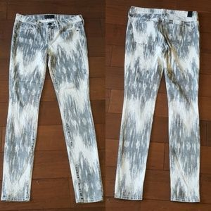 Vince Beat Down White Dylan Skinny Jeans